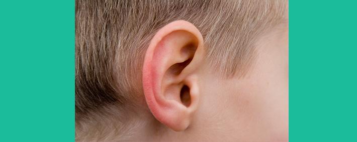 Ohren bei Kindern reinigen