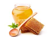 Ohrenkerze mit Honig